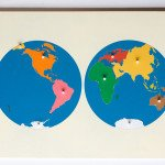 Early Education – World Geography: Puzzle maps are the child's introduction to the world we live in.